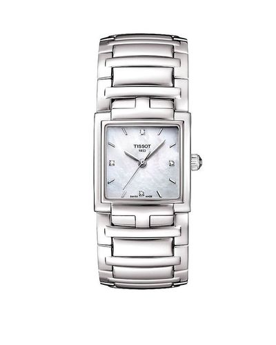 TISSOT T-EVOCATION DAMENUHR PERLMUTT MIT DIAMANTEN T051.310.11.116.00